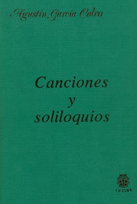 Canciones y soliloquios Portada segunda Lucina